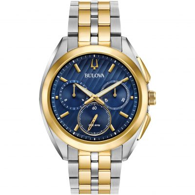 Montre Chronographe Homme Bulova Progressive Dress CURV 98A159