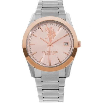 US Polo Association Unisex horloge Zilver USP5408RG