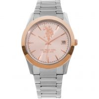 US Polo Association Unisexklocka Silver USP5408RG