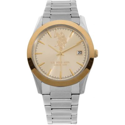 US Polo Association Unisex horloge Zilver USP5410YG