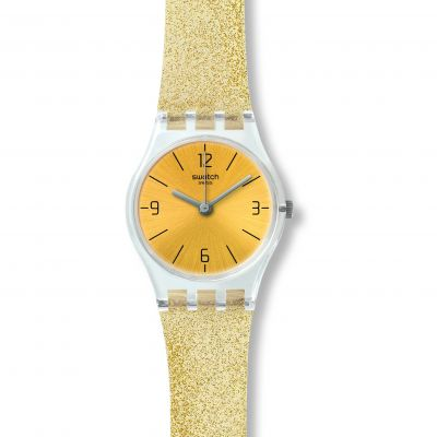 Swatch Goldendescent Dameshorloge Goud LK351C