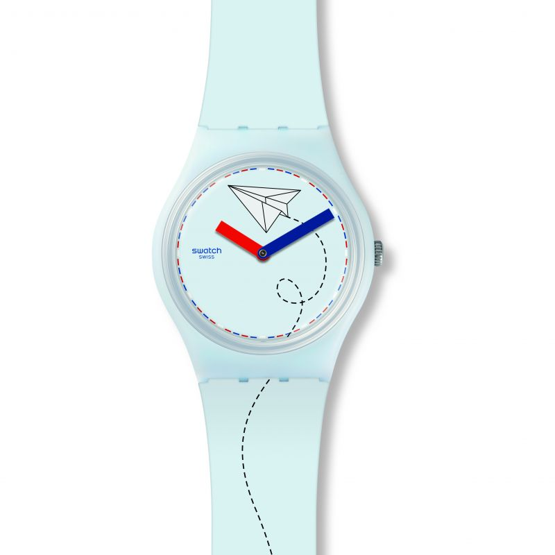 Unisex Swatch Par Avion Watch GS151