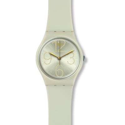 Swatch Original Gent Sheerchic Unisexuhr in Grün GT107