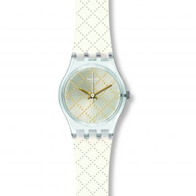 Swatch Materassino Dameshorloge Wit LK365