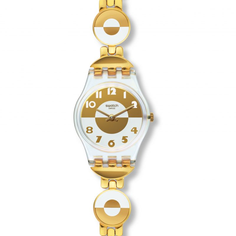 Ladies Swatch Masterglam Watch LK369G