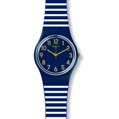 Swatch Originals Lady Ora DAria Unisexuhr in Blau LN153