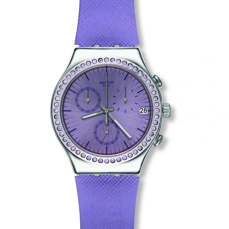Image of            Ladies Swatch Aube Chronograph Watch