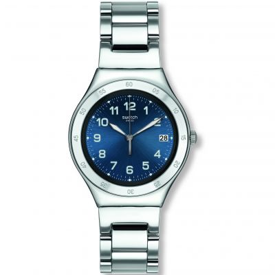 Swatch Irony Big Blue Pool Unisexuhr in Silber YGS474G