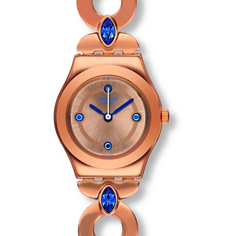 Ladies Swatch Goldenlinkings Watch