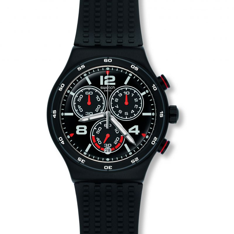 Mens Swatch Destination Shanghai Chronograph Watch