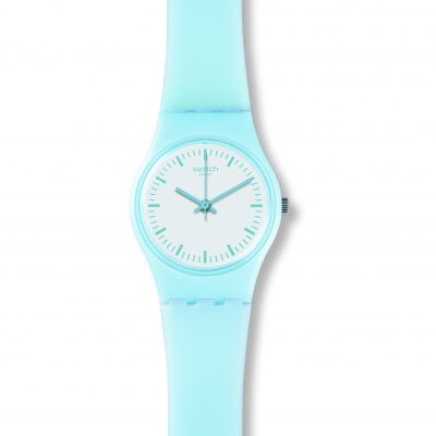 Swatch Originals Lady Clearsky Damenuhr in Blau LL119