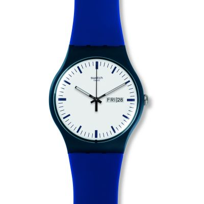 Swatch Originals New Gent Bellablu Unisexuhr in Blau SUON709