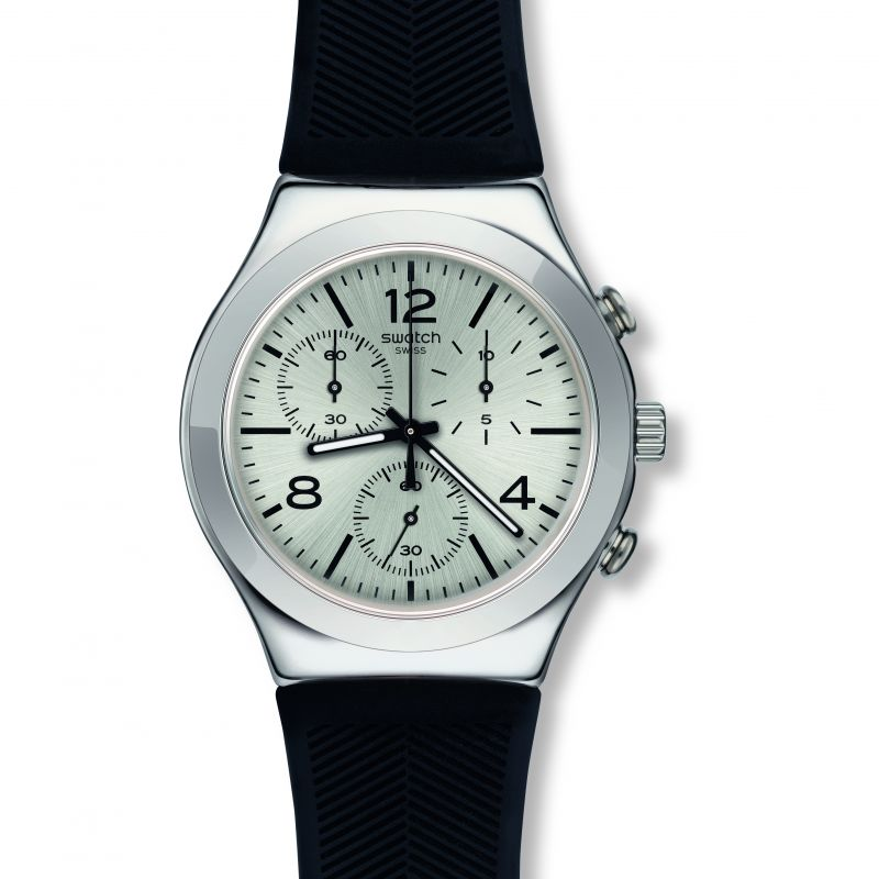 Mens Swatch Neramente Chronograph Watch