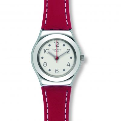 Swatch Irony Small Cite Vibe Damenuhr in Rot YSS307