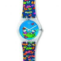 Ladies Swatch Planet Love Watch