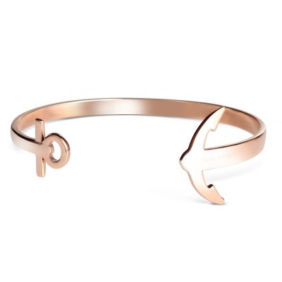 Paul Hewitt PVD rose plating Ancuff Bracelet PH-CU-R-M