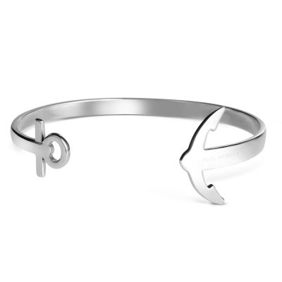 Paul Hewitt Stainless Steel Ancuff Bracelet PH-CU-S-M