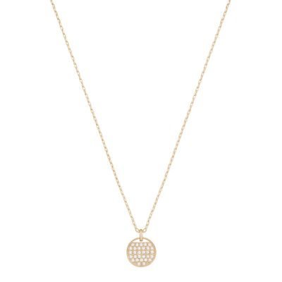 Ladies Swarovski Rose Gold Plated Ginger Necklace 5265913