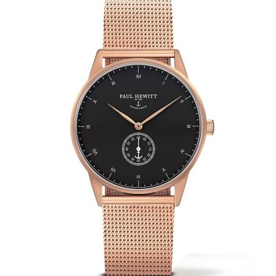 Paul Hewitt Signature Line Unisex horloge Rose PH-M1-R-B-4M