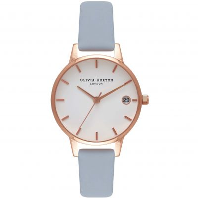 The Dandy Rose Gold & Chalk Blue Watch