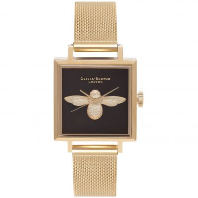 Montre Femme Olivia Burton Queen Bee Silver & Gold OB16AM90