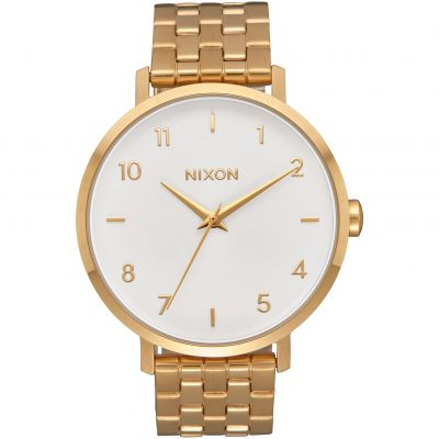 Nixon The Arrow Damklocka Guld A1090-504