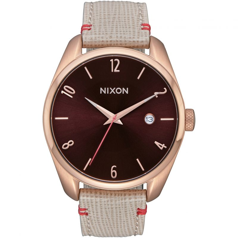 Ladies Nixon The Bullet Leather Watch A473-1890