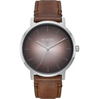 Unisex Nixon The Porter Leather Watch A1058-2594