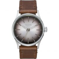 Mens Nixon The Sentry 38 Leather Watch A377-2594