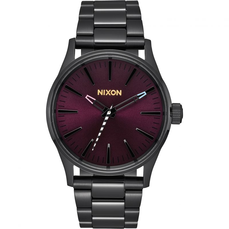 Unisex Nixon The Sentry 38 SS Watch A450-192