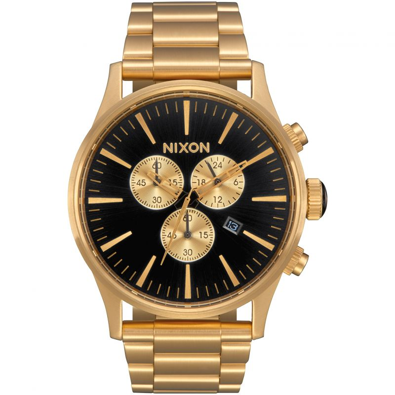 Mens Nixon The Sentry Chrono Chronograph Watch A386-510