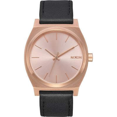 Nixon The Time Teller Unisexuhr in Schwarz A045-1932