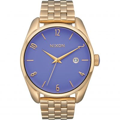 Nixon The Bullet Damenuhr in Gold A418-2624