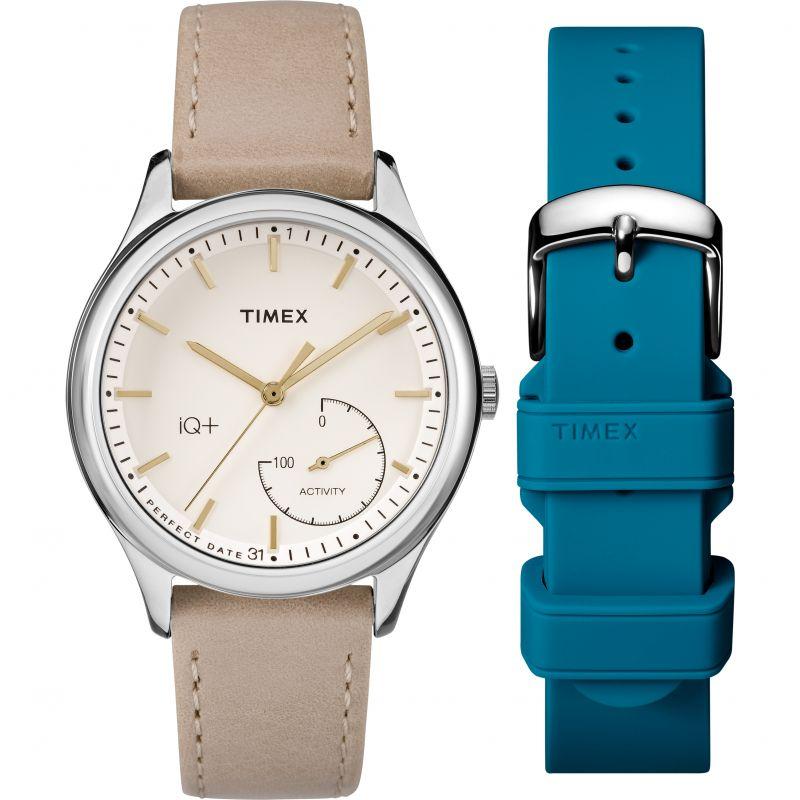 Ladies Timex IQ+ Move Activity Tracker Bluetooth Hybrid Smartwatch Watch