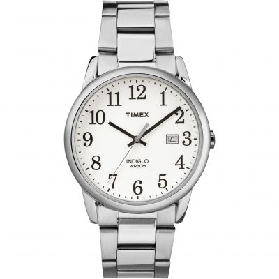 Timex Classic Easy Reader Herrenuhr in Silber TW2R23300