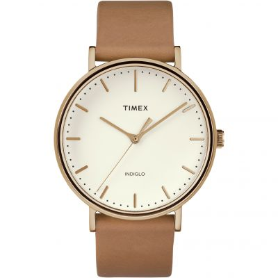 Timex Weekender Fairfield Herrenuhr in Braun TW2R26200