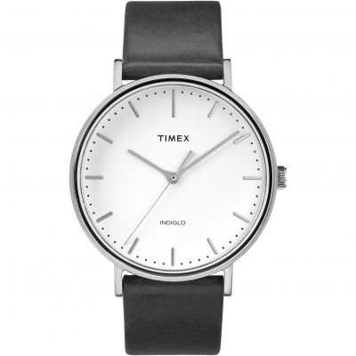 Timex Weekender Fairfield Herrenuhr in Schwarz TW2R26300