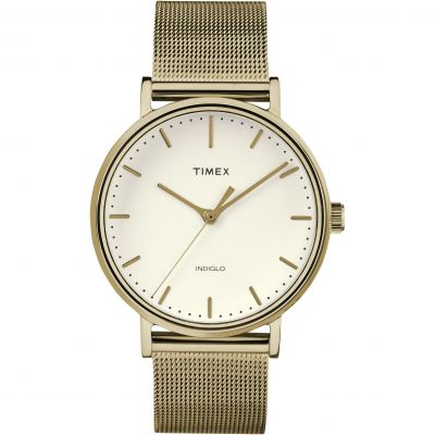 Timex Weekender Fairfield Herrenuhr in Gold TW2R26500