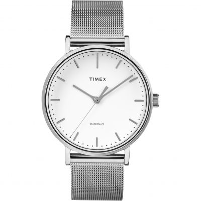 Timex Weekender Fairfield Herrenuhr in Silber TW2R26600