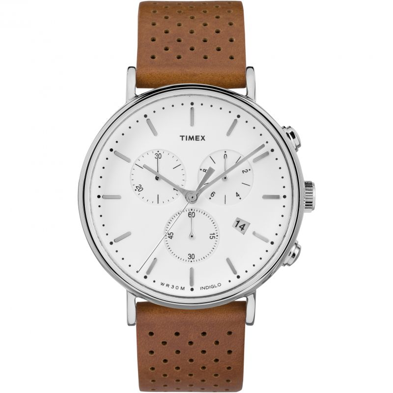 Mens Timex Weekender Fairfield Chronograph Watch