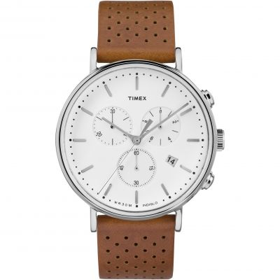 Timex Weekender Fairfield Herrenchronograph in Braun TW2R26700