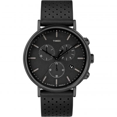 Timex Weekender Fairfield Herrenchronograph in Schwarz TW2R26800