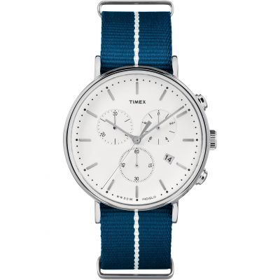 Timex Weekender Fairfield Herrenchronograph in Blau TW2R27000