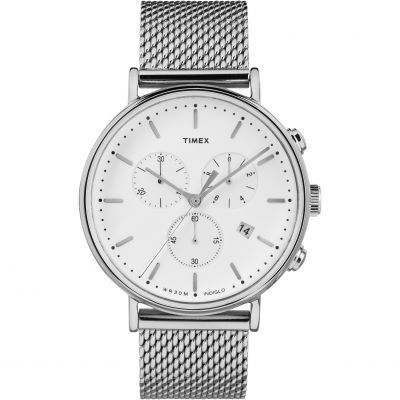 Timex Weekender Fairfield Herrenchronograph in Silber TW2R27100