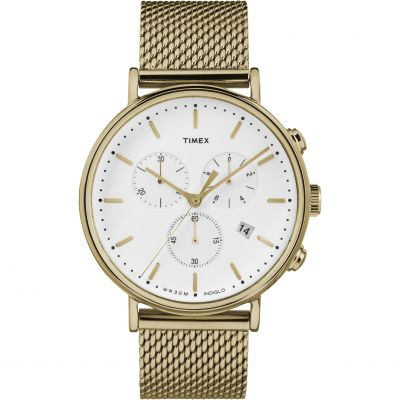 Timex Weekender Fairfield Herrenchronograph in Gold TW2R27200