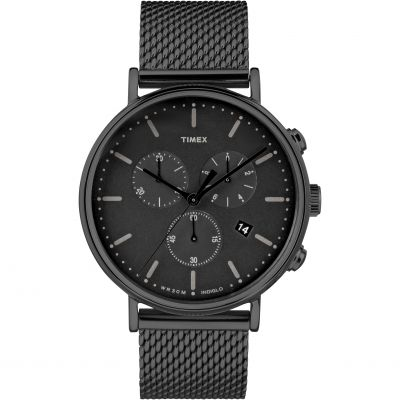 Timex Weekender Fairfield Herrenchronograph in Schwarz TW2R27300