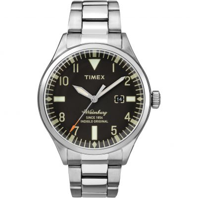 Timex The Waterbury Herrenuhr in Silber TW2R25100