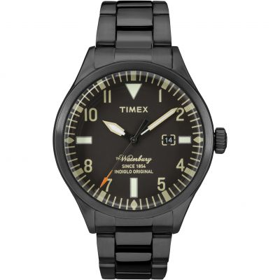 Timex The Waterbury Herrenuhr in Schwarz TW2R25200