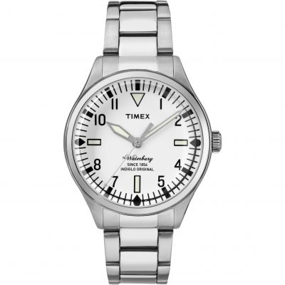 Timex The Waterbury Herrenuhr in Silber TW2R25400