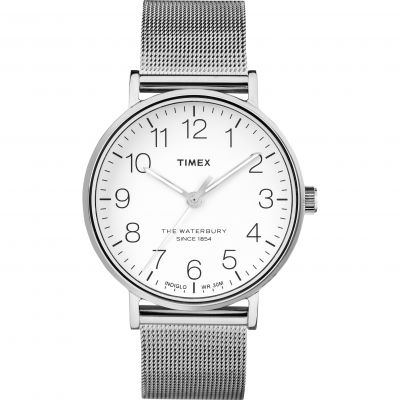 Timex The Waterbury Herenhorloge Zilver TW2R25800